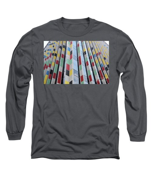 City Abstract One Long Sleeve T-Shirt