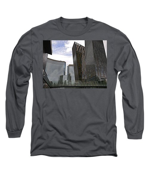 City Center At Las Vegas Long Sleeve T-Shirt