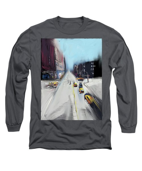City Contrast Long Sleeve T-Shirt