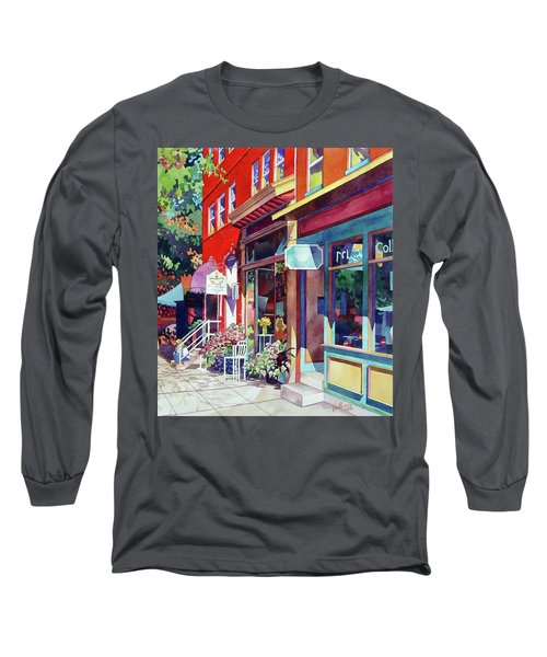 City Flower Long Sleeve T-Shirt