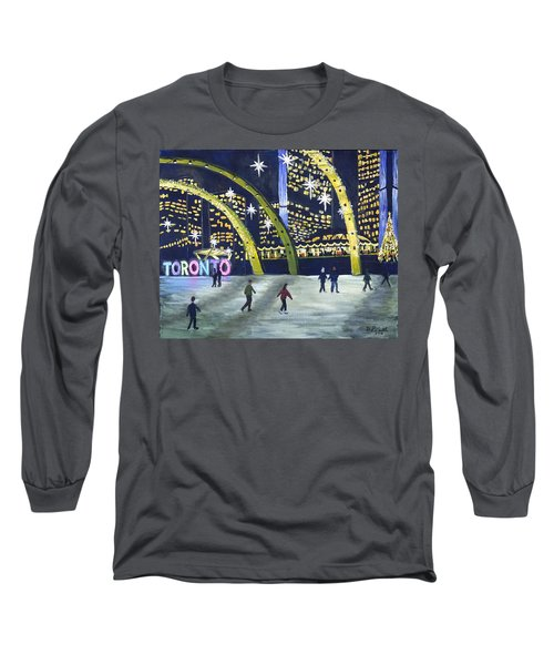 City Hall Christmas Long Sleeve T-Shirt