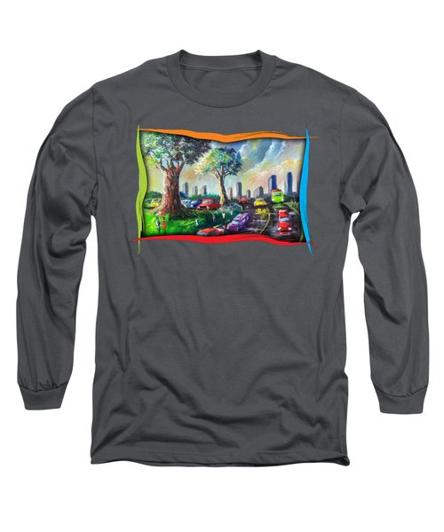 City Life Long Sleeve T-Shirt