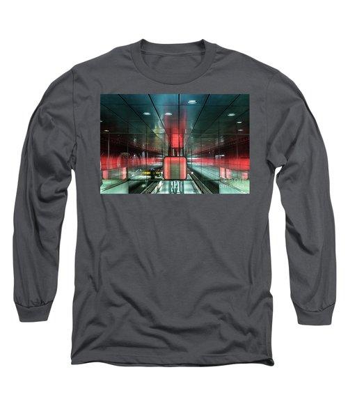 City Metro Station Hamburg Long Sleeve T-Shirt