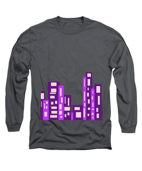 City Night Long Sleeve T-Shirt by Joy Watson