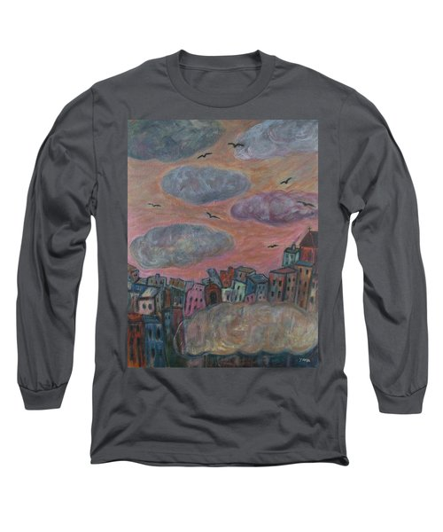 City Of Clouds Long Sleeve T-Shirt