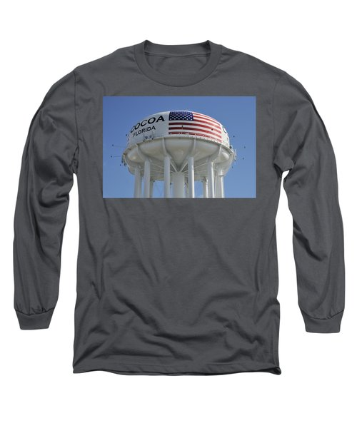 City Of Cocoa Water Tower Long Sleeve T-Shirt