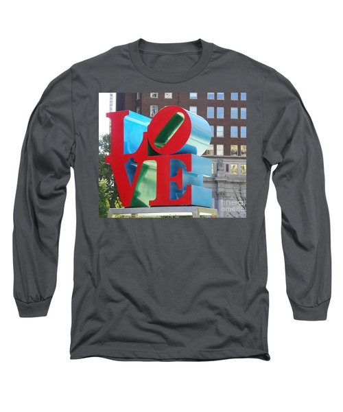 City Of Love Long Sleeve T-Shirt