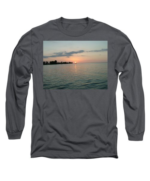 City Pier Holmes Beach Bradenton Florida Long Sleeve T-Shirt