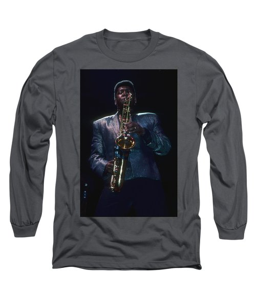Clarence Clemons Long Sleeve T-Shirt