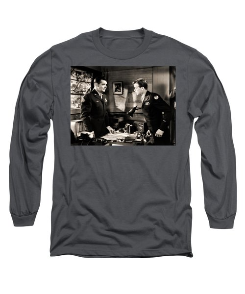 Clark Gable Appearing In Command Decision Long Sleeve T-Shirt