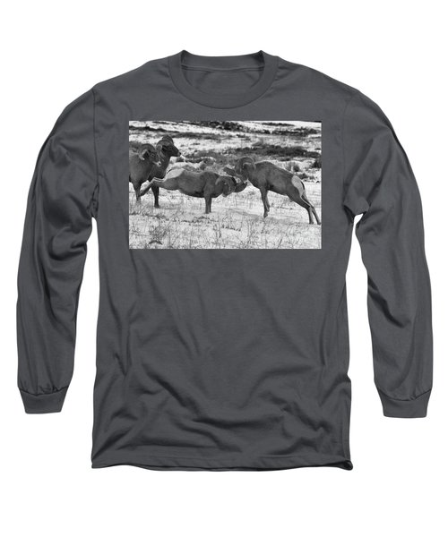 Clash Of The Bighonr Bruisers Long Sleeve T-Shirt