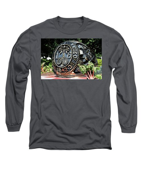Class Ring Long Sleeve T-Shirt by Ed Waldrop