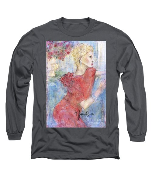 Classic Beauty Long Sleeve T-Shirt by P J Lewis