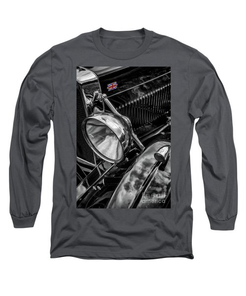 Long Sleeve T-Shirt featuring the photograph Classic Britsh Mg by Adrian Evans