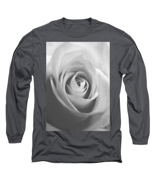 Classic Bw Rose Long Sleeve T-Shirt
