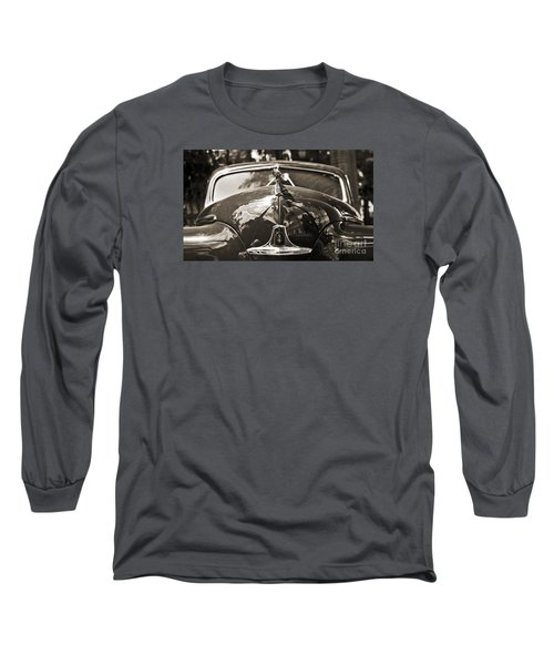 Classic Car Detail - Dodge 1948 Long Sleeve T-Shirt