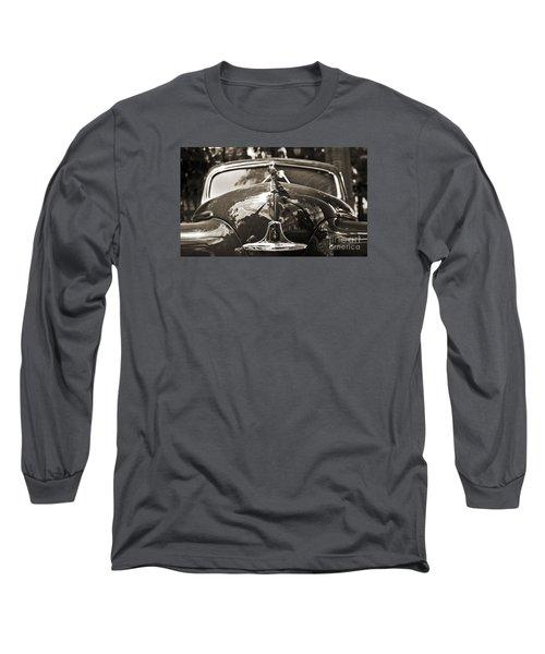 Classic Car Detail - Dodge 1948 Long Sleeve T-Shirt