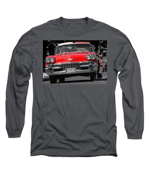 Classic Car Long Sleeve T-Shirt by Raymond Earley