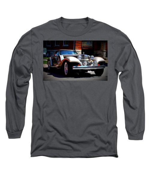 Classic Streets Long Sleeve T-Shirt by Al Fritz