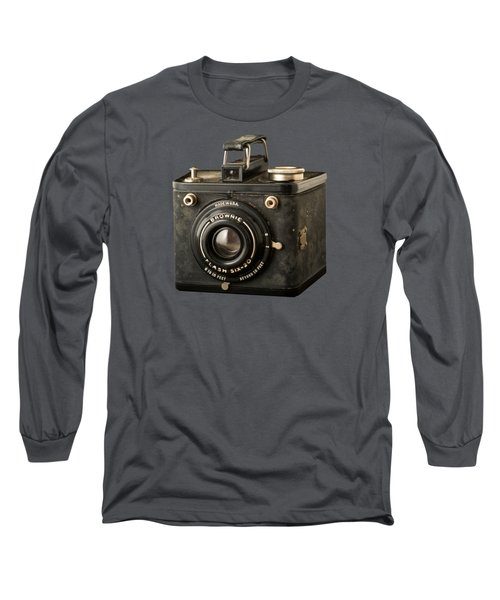 Classic Vintage Kodak Brownie Camera Tee Long Sleeve T-Shirt