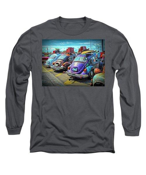 Classic Volkswagen Beetle - Old Vw Bug Long Sleeve T-Shirt