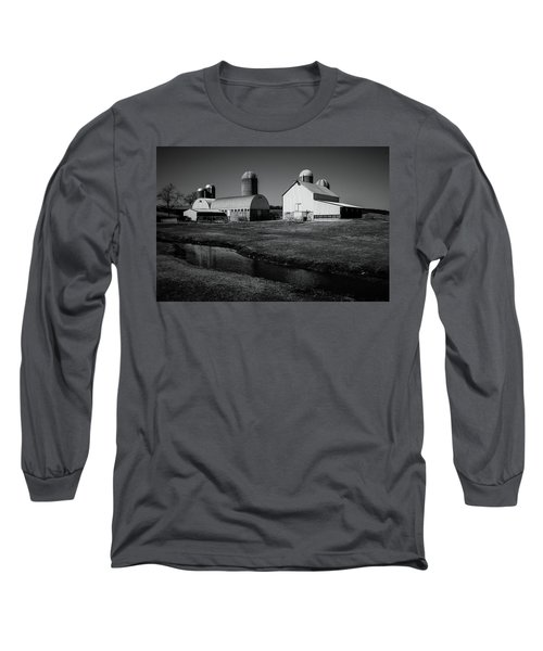 Classic Wisconsin Farm Long Sleeve T-Shirt