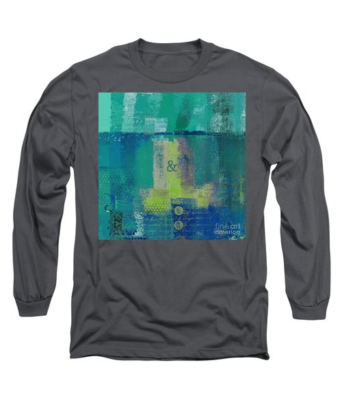 Long Sleeve T-Shirt featuring the digital art Classico - S03c04 by Variance Collections