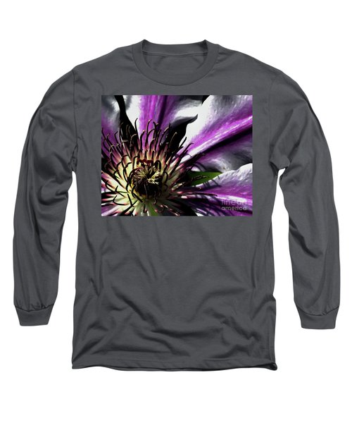 Long Sleeve T-Shirt featuring the photograph Classy Nelly by Baggieoldboy