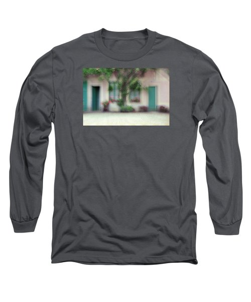 Long Sleeve T-Shirt featuring the photograph At Claude Monet's Neighborhood by Dubi Roman