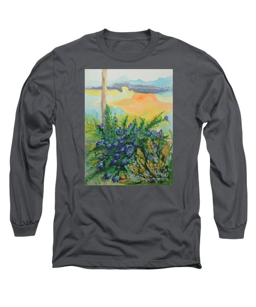 Long Sleeve T-Shirt featuring the painting Cleansed by Holly Carmichael