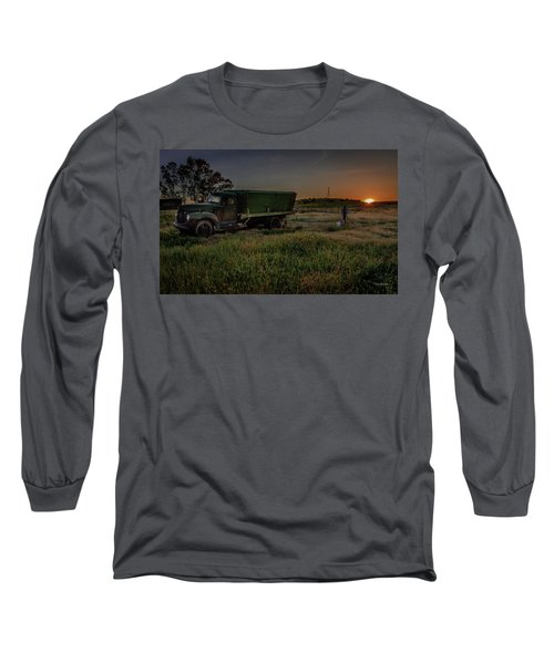 Clear Morning Sunrise Long Sleeve T-Shirt