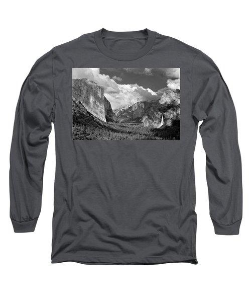 Clearing Skies Yosemite Valley Long Sleeve T-Shirt