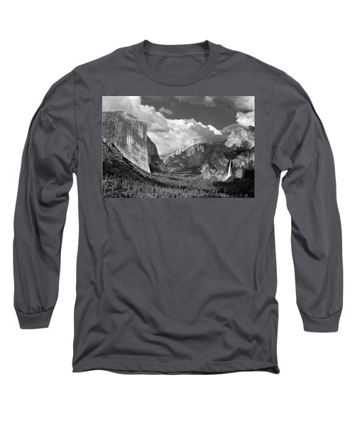Clearing Skies Yosemite Valley Long Sleeve T-Shirt