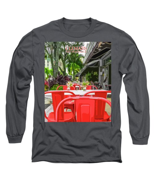 Clematis By Day Long Sleeve T-Shirt by Josy Cue