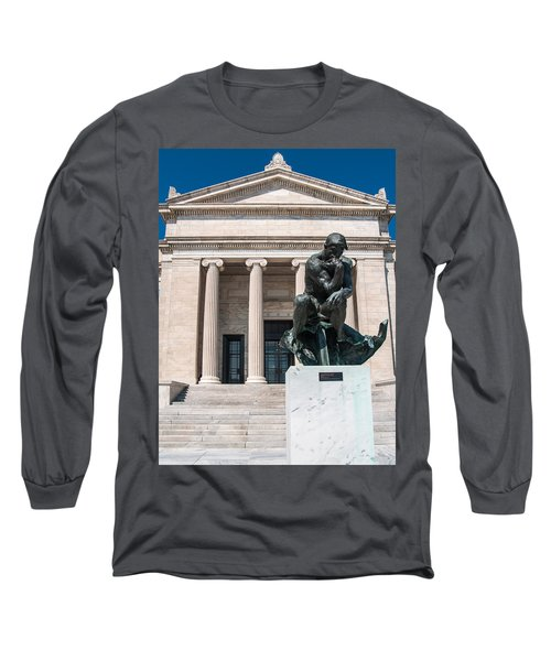 Cleveland Museum Of Art, The Thinker Long Sleeve T-Shirt
