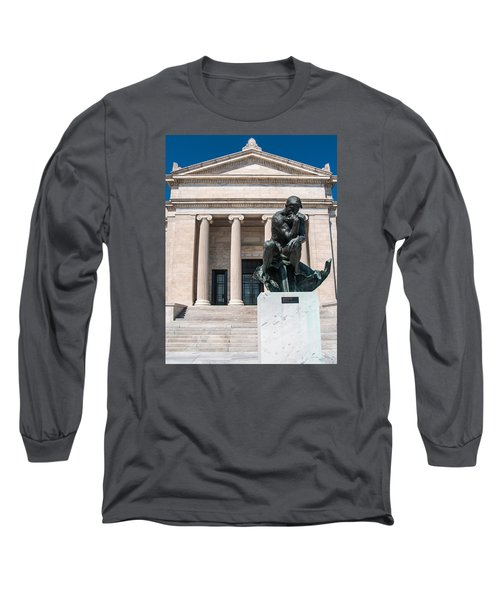 Cleveland Museum Of Art, The Thinker Long Sleeve T-Shirt