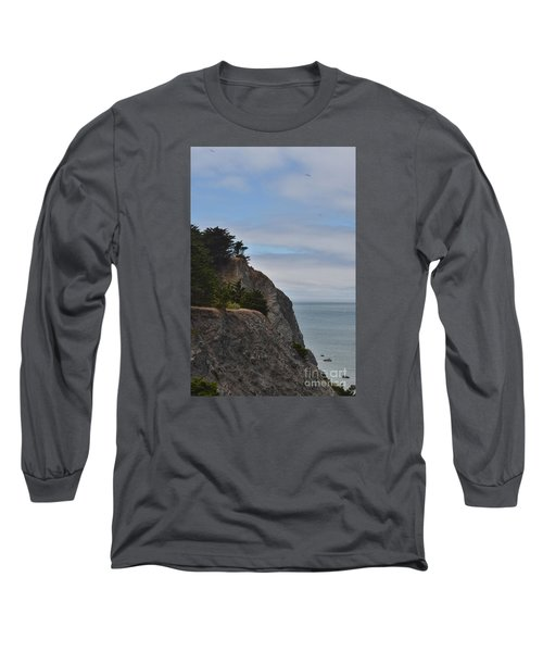Cliff Hanger Long Sleeve T-Shirt by Judy Wolinsky