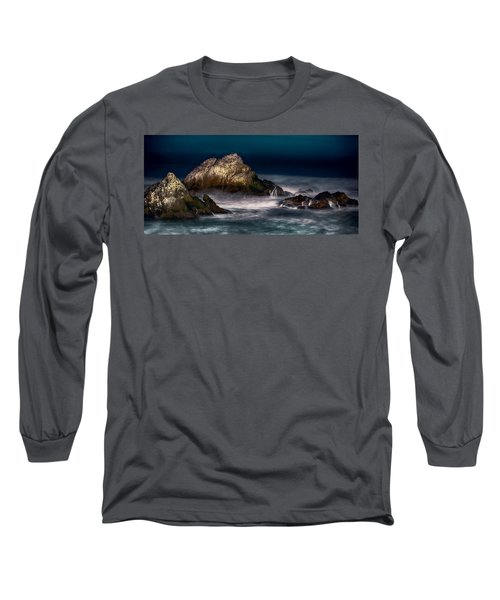 Long Sleeve T-Shirt featuring the photograph Cliff House San Francisco Seal Rock by Steve Siri