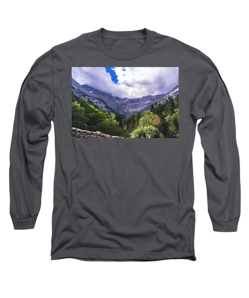 Cliff Over The Trees Long Sleeve T-Shirt