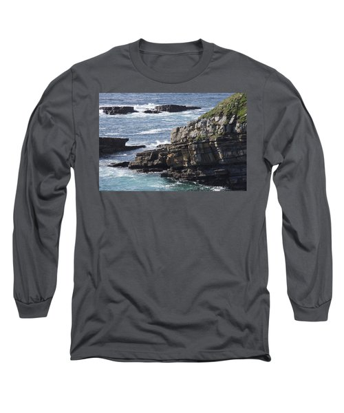 Cliffs Overlooking Donegal Bay Long Sleeve T-Shirt