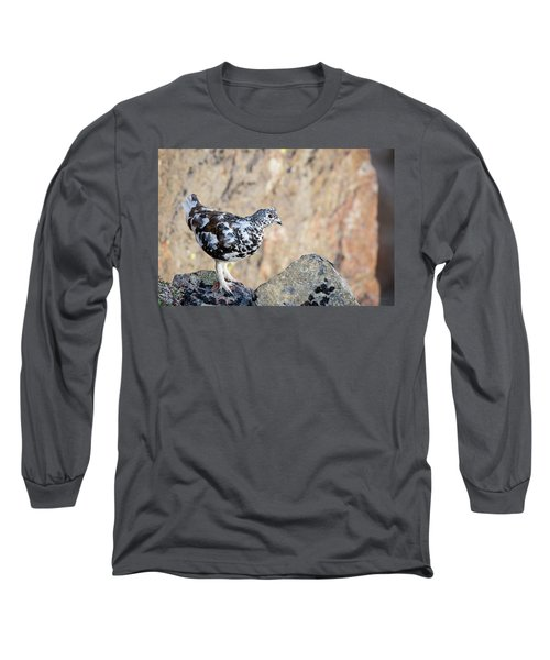 Cliffside Ptarmigan Long Sleeve T-Shirt