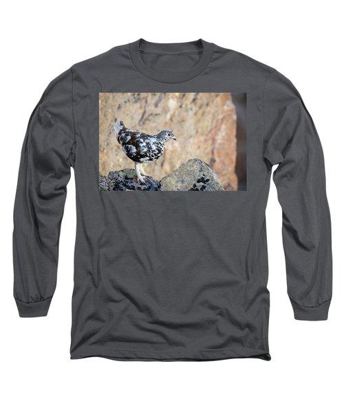 Cliffside Ptarmigan Long Sleeve T-Shirt