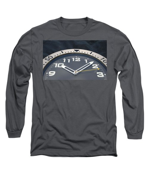 Clock Face Long Sleeve T-Shirt