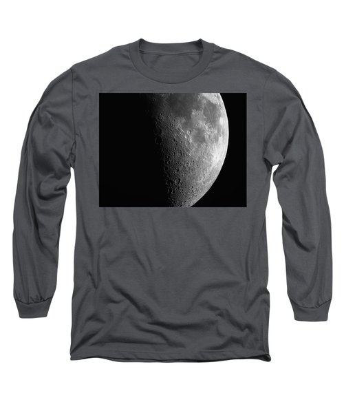 Close-up Of Moon Long Sleeve T-Shirt