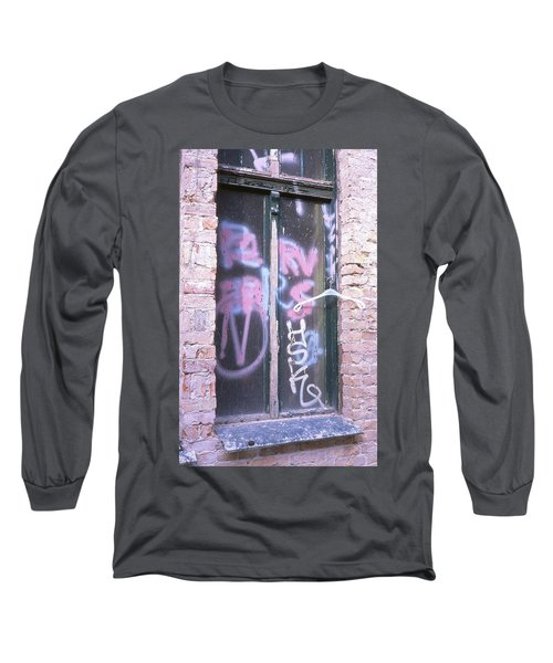 Closed Window And Hanger Long Sleeve T-Shirt