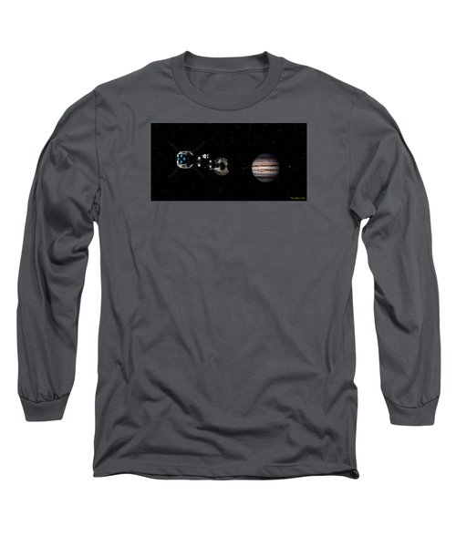 Closer Still Long Sleeve T-Shirt by David Robinson