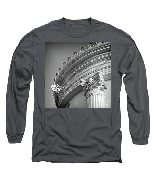 Closeup Of Lighthouse  -58750 Long Sleeve T-Shirt