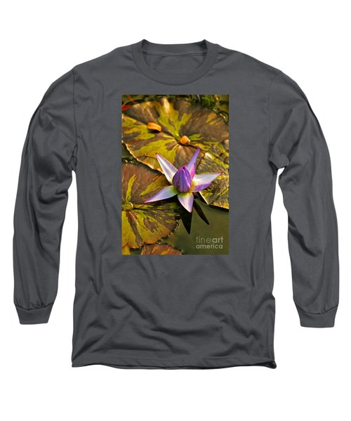 Closing For The Night Long Sleeve T-Shirt by Michael Cinnamond