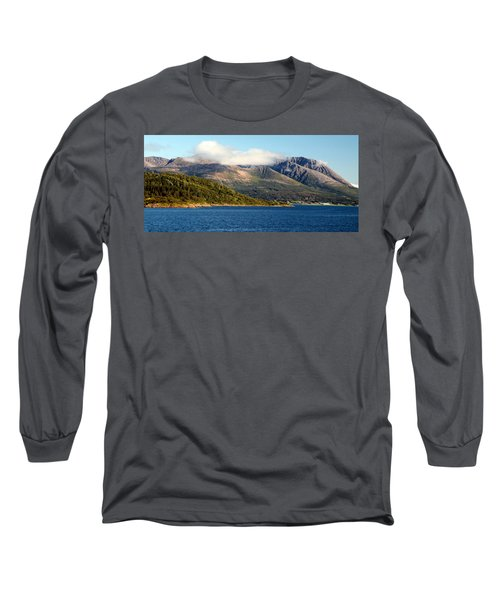 Cloud-capped Mountains Long Sleeve T-Shirt