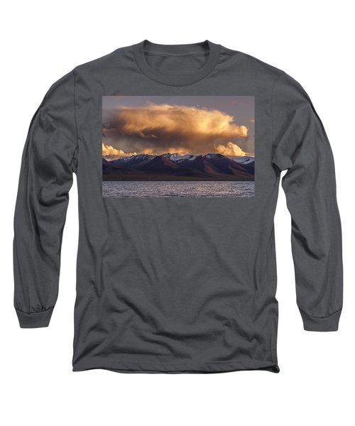 Cloud Over Namtso Long Sleeve T-Shirt